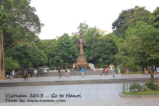 พาเที่ยวฮานอย ชมหุ่นกระบอกน้ำ ทะเลสาบคืนดาบ โบสต์คริสต์ เวียดนาม วันที่ 1